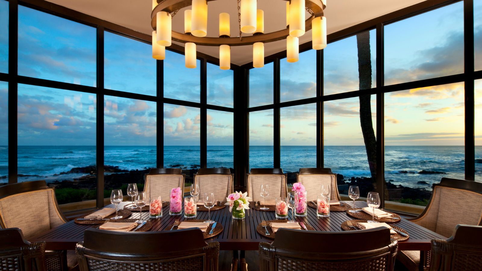 Kauai Resorts - RumFire Private Dining Room