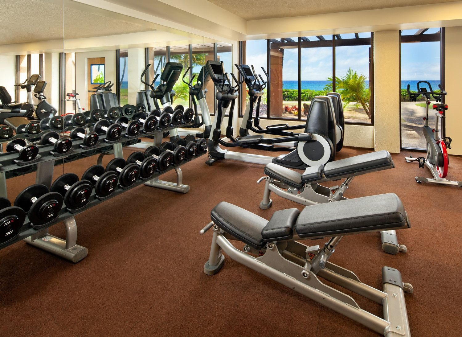Poipu Beach Hotels - Fitness Center