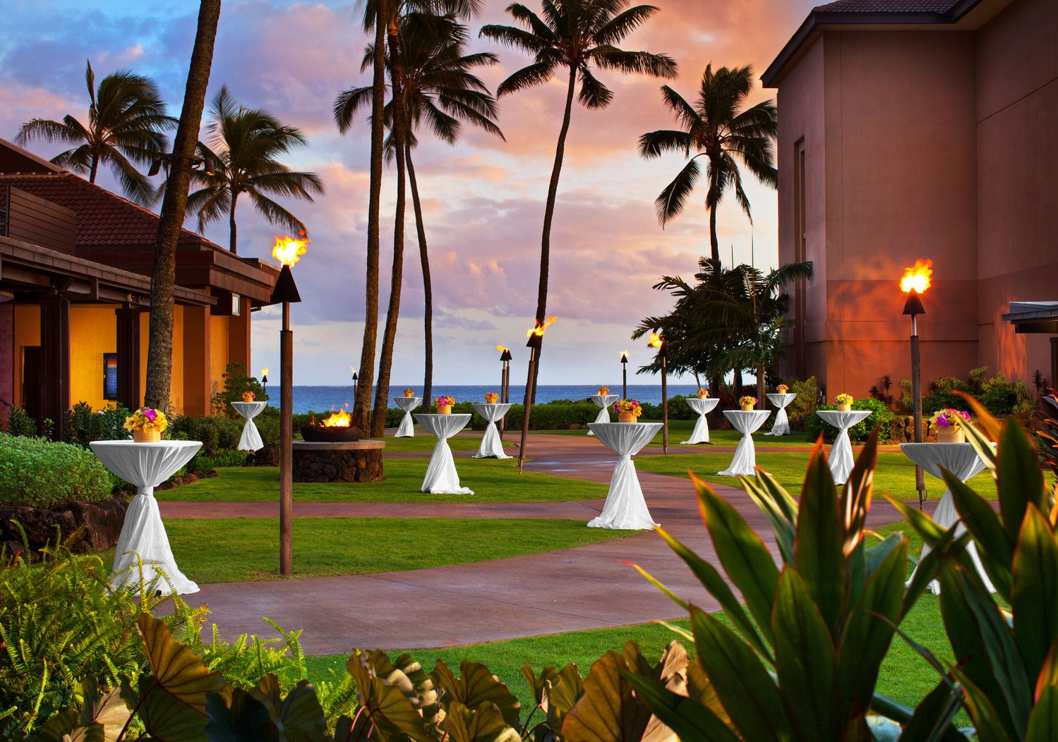 Kauai Meetings - Ocean Courtyard