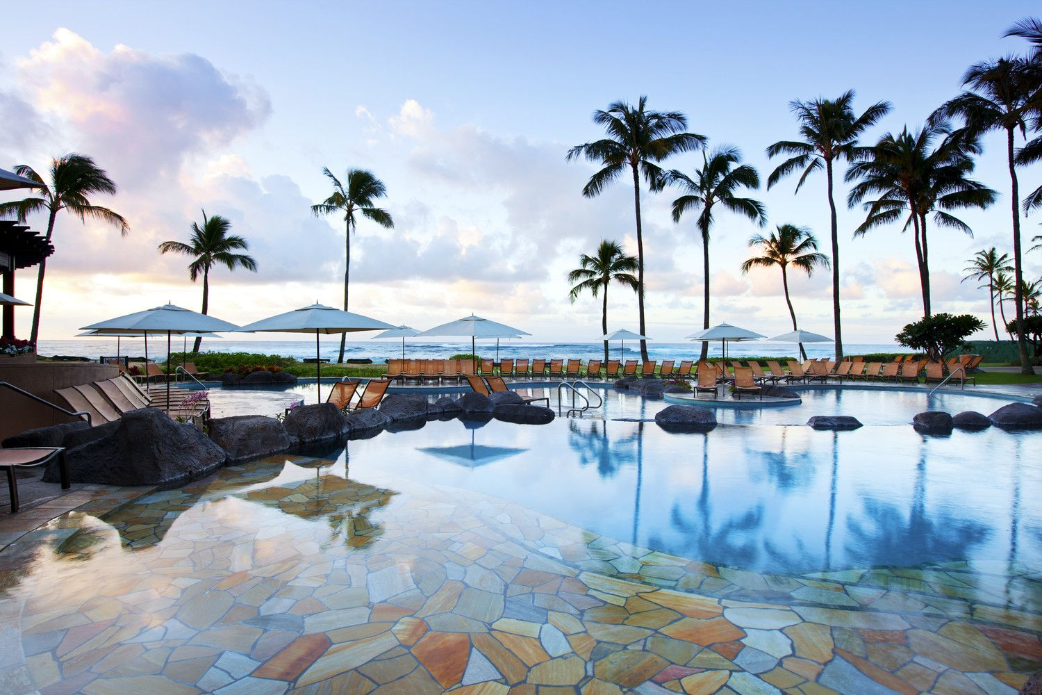 Poipu Beach Hotels - Resort Ocean Pool