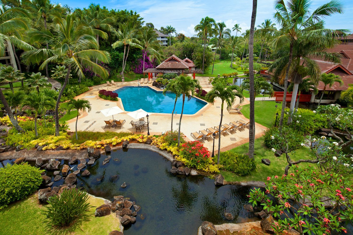 Poipu Beach Hotels - Garden Pool