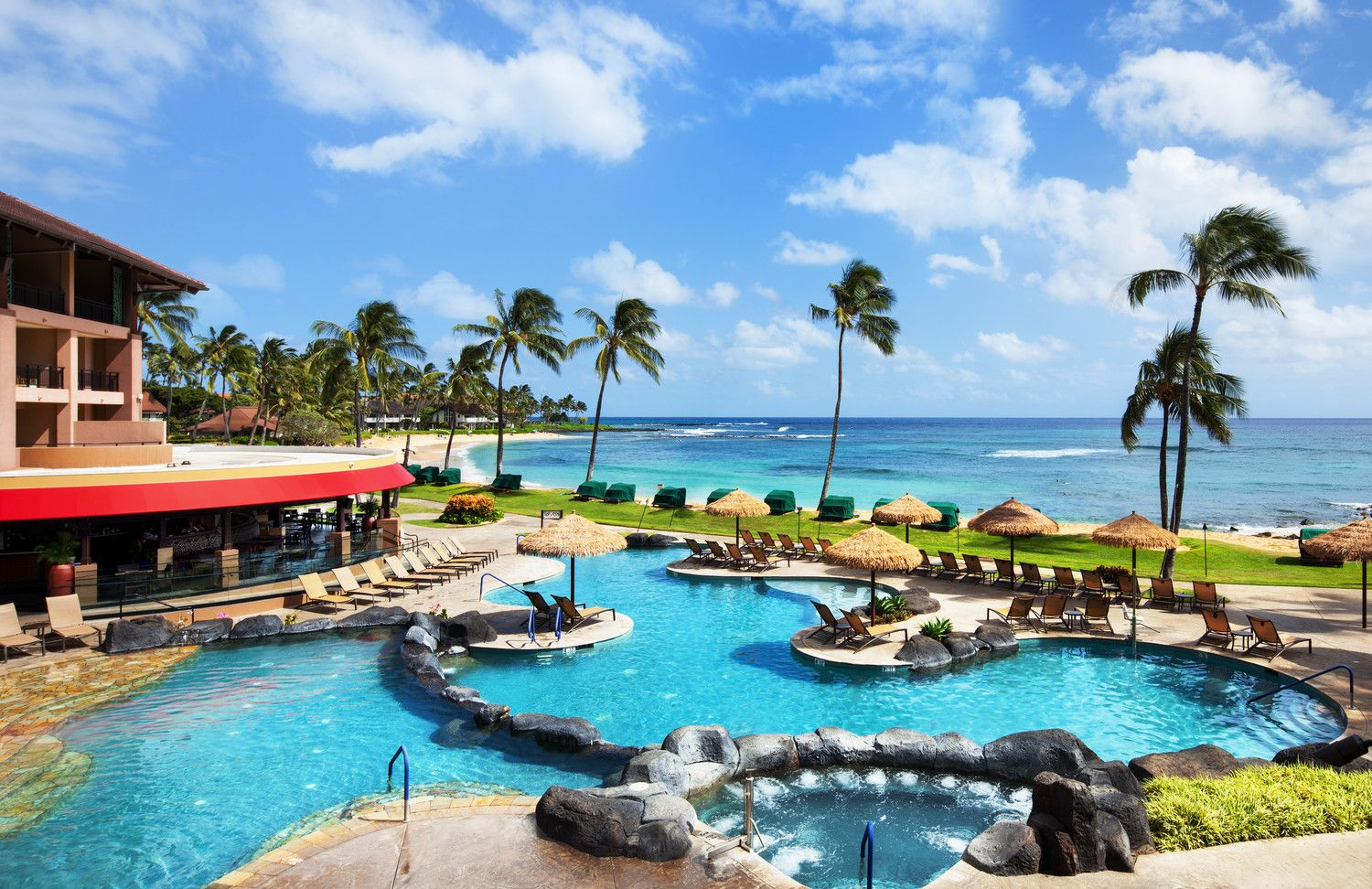 Poipu Beach Hotels - Ocean Pool